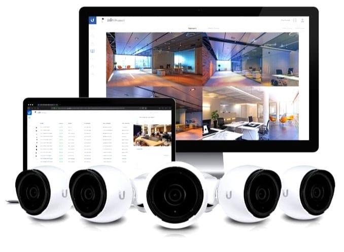 Hệ thống quản lý UniFi Protect G4-PRO Camera